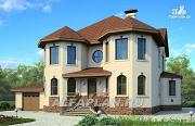 Проект респектабельный дом с гаражом