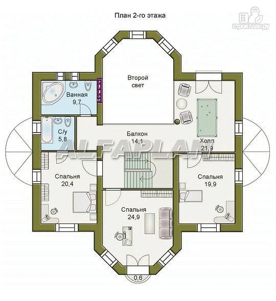 Фото 8: проект «Белта» - респектабельный двухэтажный особняк
