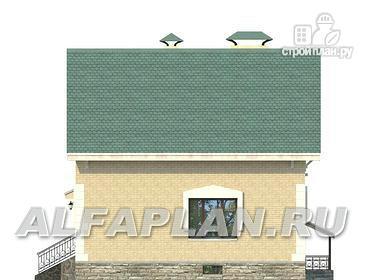 """Фото 8: проект """"Оптима плюс""""- экономичный дом с подвалом"""