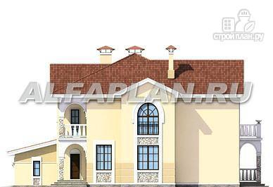 """Фото 8: проект """"Строганов"""" - респектабельный коттедж с классической архитектурой"""