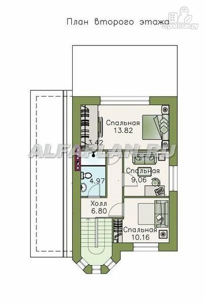 Фото 3: проект компактный дом для маленького участка