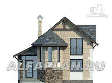 Фото 4: проект компактный дом для маленького участка