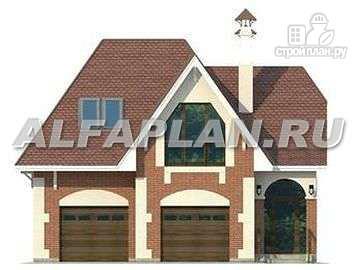 Фото 4: проект гостевой дом с гаражом на две машины