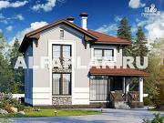 Фото: компактный дом с отличной планировкой