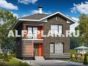 Проект современный экономичный дом