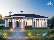 Проект экономичный одноэтажный дом