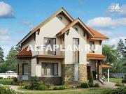 Фото: компактный дом с удобной планировкой