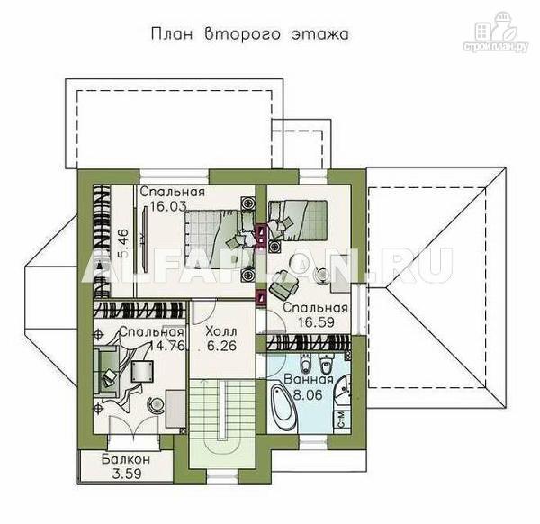 Фото 3: проект компактный дом с удобной планировкой