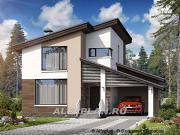 Проект «Западный бриз» - рациональный дом с удобным планом