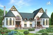 Фото: респектабельный дом на две семьи
