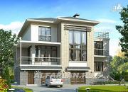 """Проект """"Три семерки"""" - трехэтажный загородный особняк"""