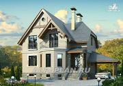 """Проект """"Шевалье плюс""""- компактный дом с цокольным этажом"""