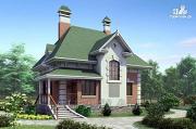 Фото: «Шале Малек» - компактный загородный дом для небольшого участка
