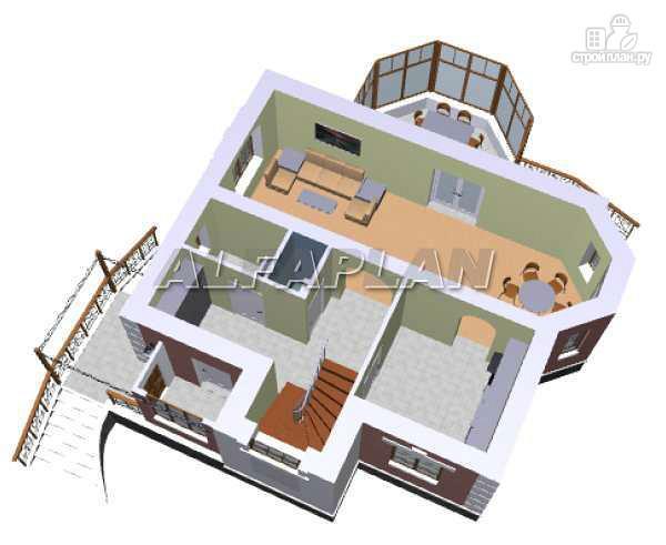 Фото 6: проект «Шале Малек» - компактный загородный дом для небольшого участка