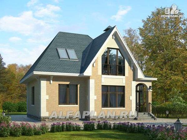 """Фото: проект """"Летний вечер"""" - небольшой дом для жизни загородом"""