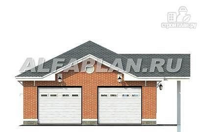 Фото 3: проект гараж на два автомобиля
