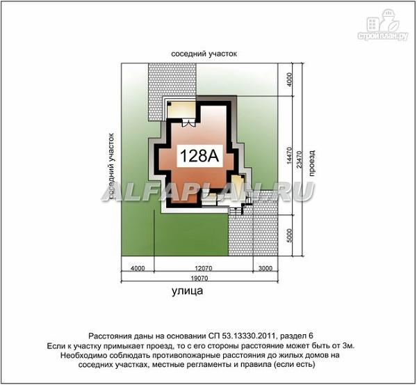 Фото 8: проект компактный двухэтажный дом для неболшьшого участка