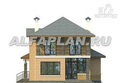 Фото 5: проект компактный двухэтажный дом для неболшьшого участка