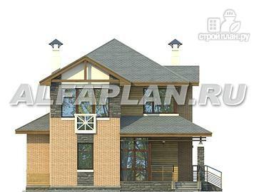 Фото 4: проект компактный двухэтажный дом для неболшьшого участка