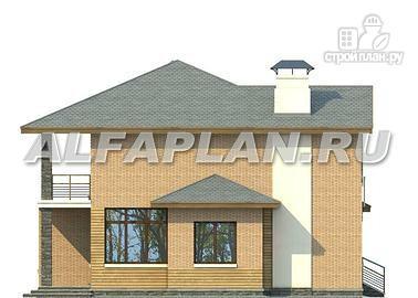 Фото 7: проект компактный двухэтажный дом для неболшьшого участка