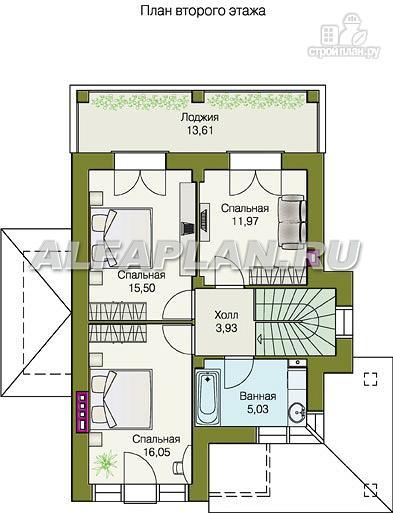 Фото 3: проект компактный двухэтажный дом для неболшьшого участка