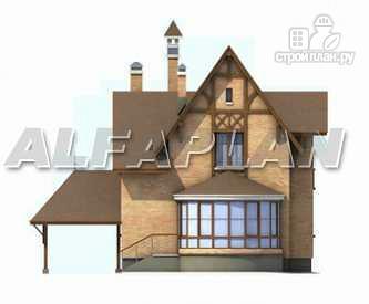 Фото 8: проект «Вива Бе» - рациональный дом с навесом для машины