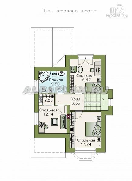 """Фото 3: проект """"Примавера"""" - компактный загородный дом"""
