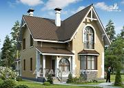 """Проект """"Примавера"""" - компактный загородный дом"""