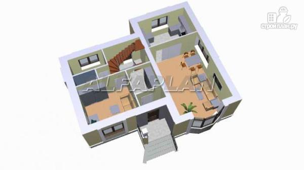 """Фото 3: проект """"Фантазия"""" - дом с компактным планом для небольшого участка"""