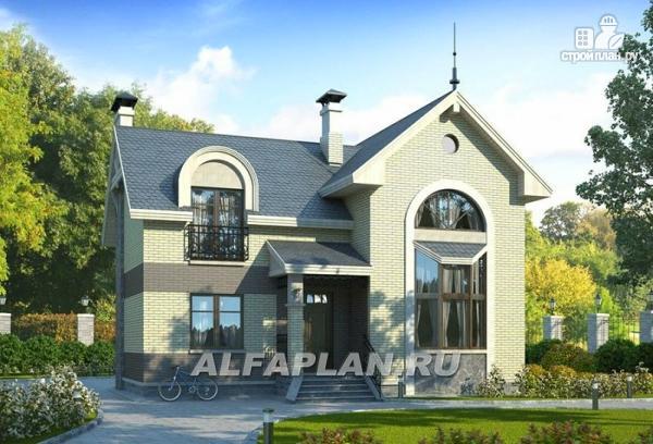 """Фото: проект """"Фантазия"""" - дом с компактным планом для небольшого участка"""
