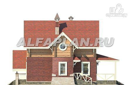 """Фото 8: проект """"Альпенхаус""""- альпийское шале из комбинированных материалов"""