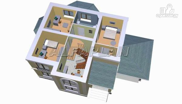 """Фото 5: проект """"Эйваро""""- коттедж с двусветной столовой"""