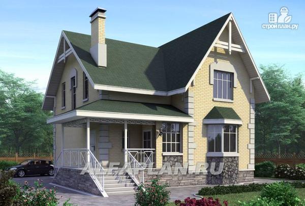 Фото: проект «Ретростилиса» - экономичный дом для небольшого участка
