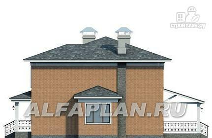 Фото 5: проект двухэтажный коттедж в классическом стиле