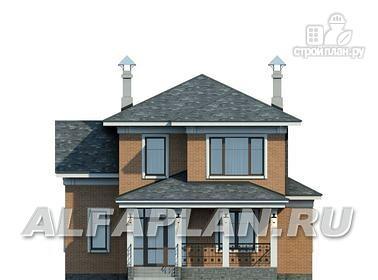 Фото 4: проект двухэтажный коттедж в классическом стиле