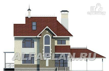 """Фото 5: проект """"Дипломат Плюс"""" - загородный дом с бильярдной и гаражом-навесом"""