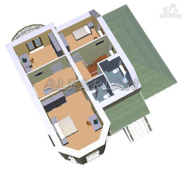 Фото 5: проект «Аристо» - компактный дом с навесом для машины