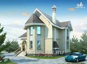 Проект «Фортуна» - экономичный и компактный загородный дом