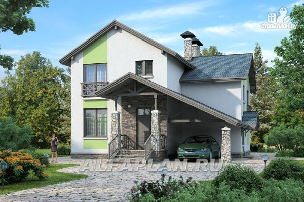 """Фото: проект """"Премьера""""- рациональный и компактный дом для небольшой семьи"""