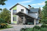"""Проект """"Премьера""""- рациональный и компактный дом для небольшой семьи"""