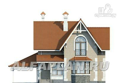 """Фото 4: проект """"Примавера"""" - компактный дом с гаражом-навесом"""