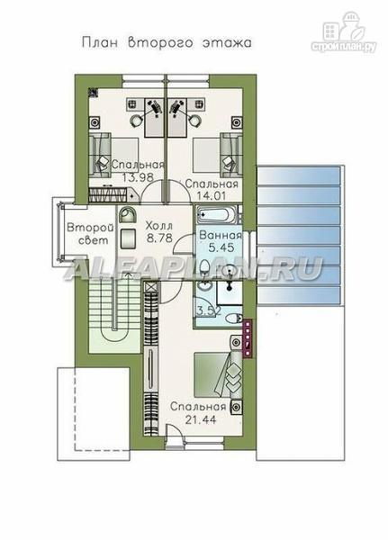 """Фото 3: проект """"Эль-Ниньо"""" - современный дом с террасами"""