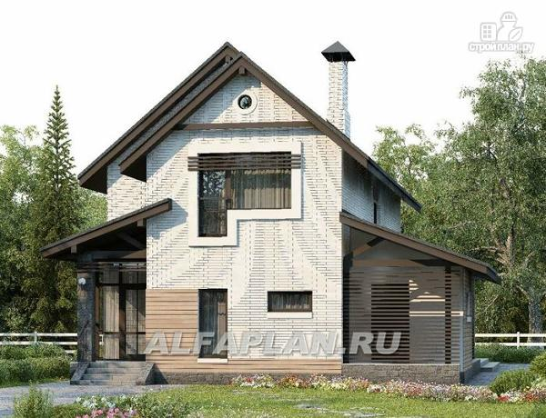 """Фото 8: проект """"Эль-Ниньо"""" - современный дом с террасами"""