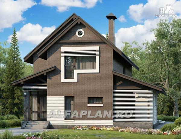 """Фото: проект """"Эль-Ниньо"""" - современный дом с террасами"""