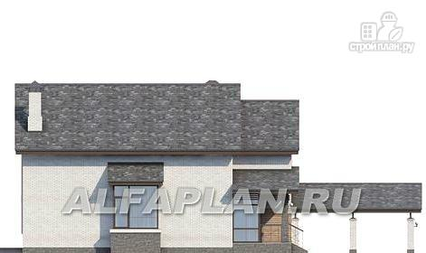"""Фото 7: проект """"Эль-Ниньо"""" - современный дом с террасами и навесом для машин"""