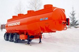 Полуприцеп-бензовоз НЕФАЗ 96893