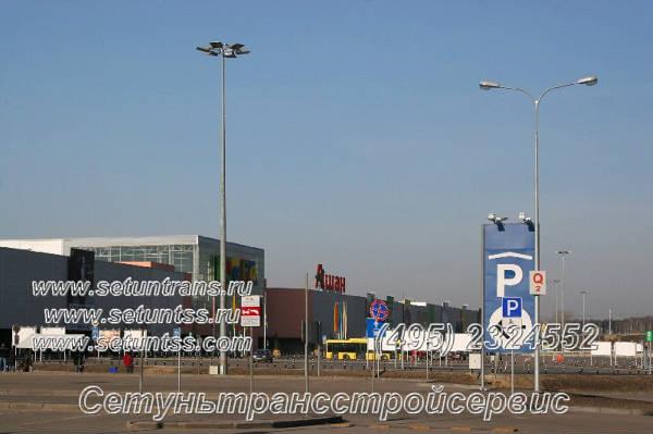 Фото Опоры, мачты, столбы, освещения. Высота 3-40 метров