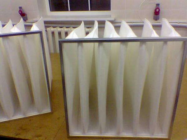 Фото Фильтры воздушные для систем вентиляции