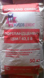 Цемент пр-ва ОАО Мордовцемент с доставкой