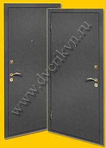 Металлические двери с отделкой порошковое напыление